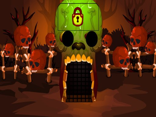 Brown Skull Forest Escape