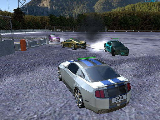 Parking Car Crash Demolition Multiplayer