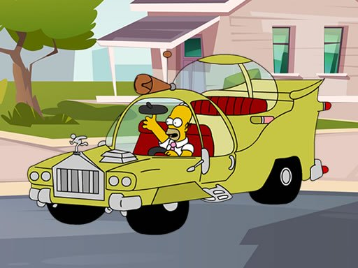 The Simpsons Car Jigsaw
